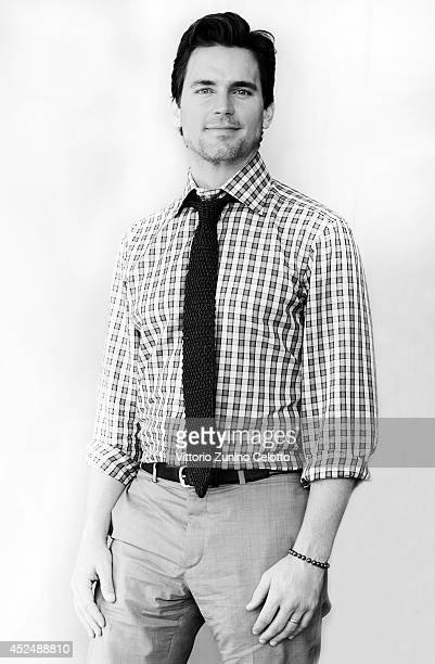 Actor Matt Bomer poses for a portraits at the Giffoni Film Festival on July 19 2014 in Giffoni Valle Piana Italy