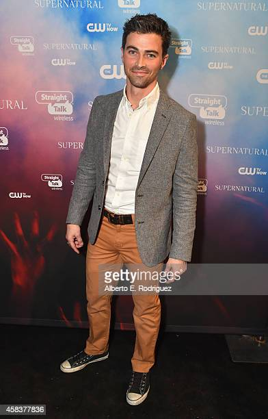 Actor Matt Cohen attends the CW's Fan Party to Celebrate the 200th episode of 'Supernatural' on November 3 2014 in Los Angeles California