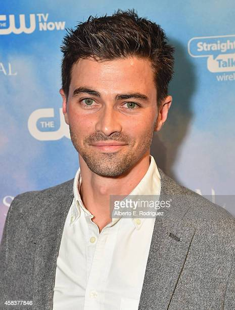 Actor Matt Cohen attends the CW's Fan Party to Celebrate the 200th episode of Supernatural on November 3 2014 in Los Angeles California