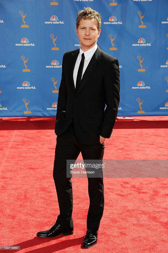 Actor Matt Czuchry arrives at the 62nd Annual Primetime Emmy Awards held at the Nokia Theatre L.A. Live on August 29, 2010 in Los Angeles, California.