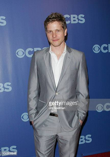 Actor Matt Czuchry attends the 2010 CBS Upfront at The Tent at Lincoln Center on May 19 2010 in New York City