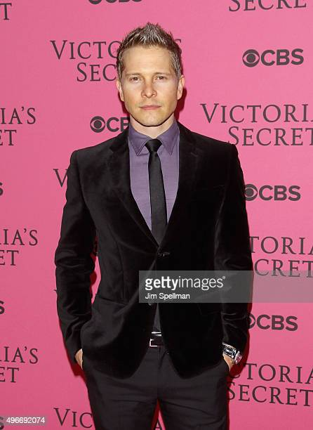 Actor Matt Czuchry attends the 2015 Victoria's Secret Fashion Show pink carpet arrivals at Lexington Armory on November 10 2015 in New York City