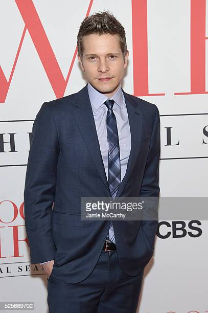 Actor Matt Czuchry attends 'The Good Wife' Finale Party at Museum of Modern Art on April 28 2016 in New York City