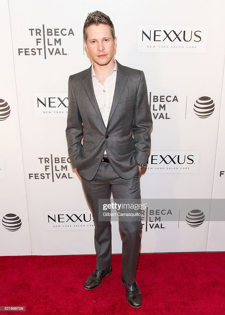 Actor Matt Czuchry attends 'The Good Wife' Screening during 2016 Tribeca Film Festival at John Zuccotti Theater at BMCC Tribeca Performing Arts Center on April 17, 2016 in New York City.