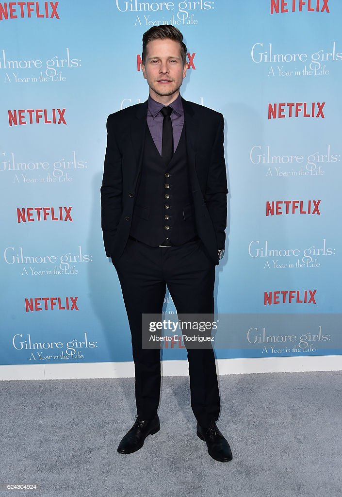 Actor Matt Czuchry attends the premiere of Netflix's 'Gilmore Girls: A Year In The Life' at the Regency Bruin Theatre on November 18, 2016 in Los Angeles, California.