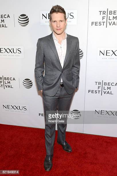 Actor Matt Czuchry attends the Tribeca Tune In The Good Wife at BMCC John Zuccotti Theater on April 17 2016 in New York City