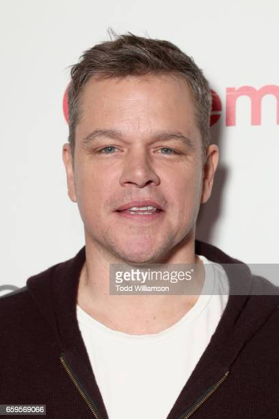 Actor Matt Damon at CinemaCon 2017 Paramount Pictures Presentation Highlighting Its Summer of 2017 and Beyond at The Colosseum at Caesars Palace...