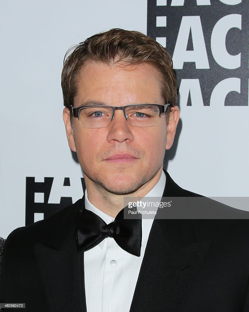 Actor Matt Damon attends the 65th annual ACE Eddie Awards at The Beverly Hilton Hotel on January 30, 2015 in Beverly Hills, California.