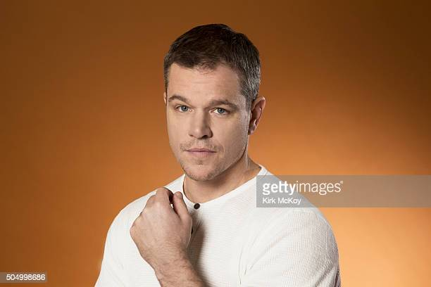 Actor Matt Damon is photographed for Los Angeles Times on December 7 2015 in Los Angeles California PUBLISHED IMAGE CREDIT MUST READ Kirk McKoy/Los...