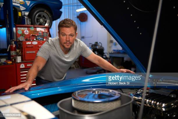 Actor Matt Damon is photographed for Sports Illustrated on August 8 2019 at the Shelby Building in Gardena California CREDIT MUST READ Robert...