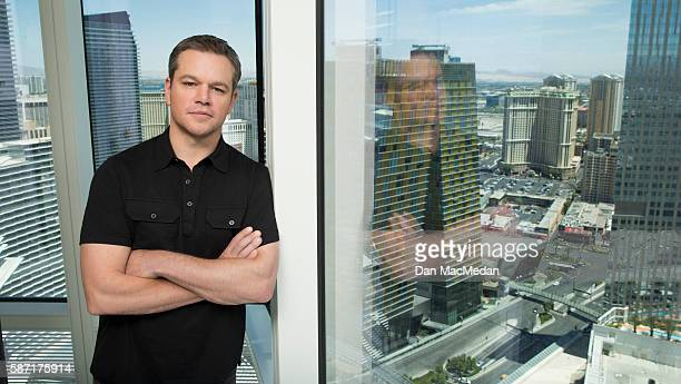 Actor Matt Damon is photographed for USA Today on July 18 2016 in Las Vegas Nevada PUBLISHED IMAGE