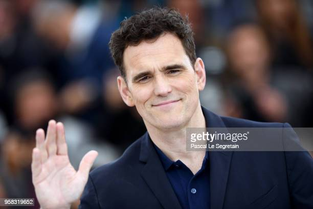 Actor Matt Dillon attends 'The House That Jack Built' Photocall during the 71st annual Cannes Film Festival at Palais des Festivals on May 14 2018 in...