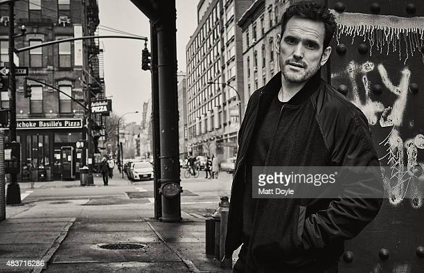 Actor Matt Dillon is photographed for Back Stage on April 10 in New York City