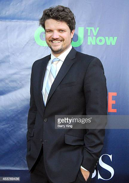 Actor Matt Jones arrives at the CBS The CW Showtime CBS Television Distribution 2014 Television Critics Association Summer Press Tour at Pacific...