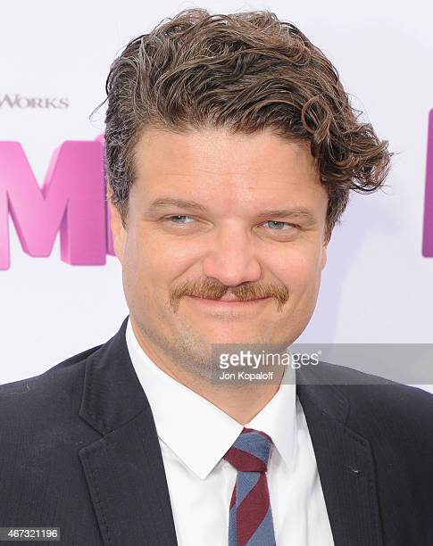 Actor Matt Jones arrives at the Los Angeles Premiere HOME at Regency Village Theatre on March 22 2015 in Westwood California