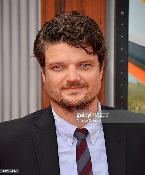 Actor Matt Jones arrives at the Los Angeles premiere of Disney's Planes Fire Rescue at the El Capitan Theatre on July 15 2014 in Hollywood California