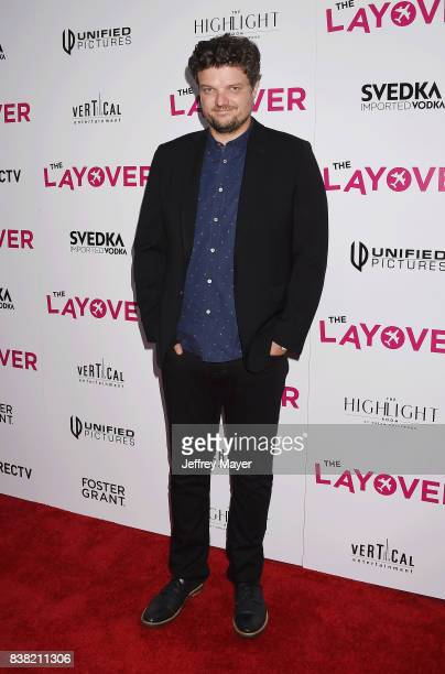Actor Matt Jones arrives at the Premiere of DIRECTV And Vertical Entertainment's 'The Layover' at ArcLight Hollywood on August 23 2017 in Hollywood...