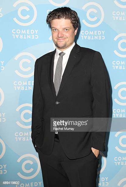 Actor Matt Jones attends the Comedy Central Emmys after party at Boulevard3 on September 20 2015 in Hollywood California