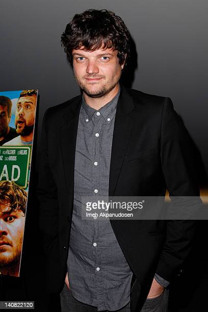 Actor Matt Jones attends the 'High Road' Los Angeles premiere held at the Landmark Theater on March 6 2012 in Los Angeles California