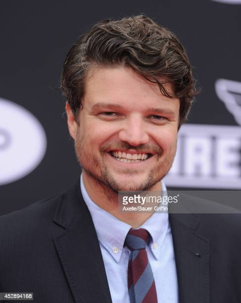 Actor Matt Jones attends the premiere of 'Planes Fire Rescue' at the El Capitan Theatre on July 15 2014 in Hollywood California