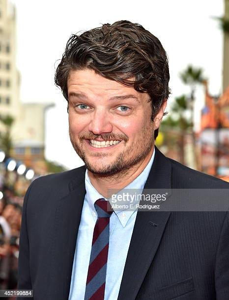 Actor Matt Jones attends World Premiere Of Disney's Planes Fire Rescue at the El Capitan Theatre on July 15 2014 in Hollywood California