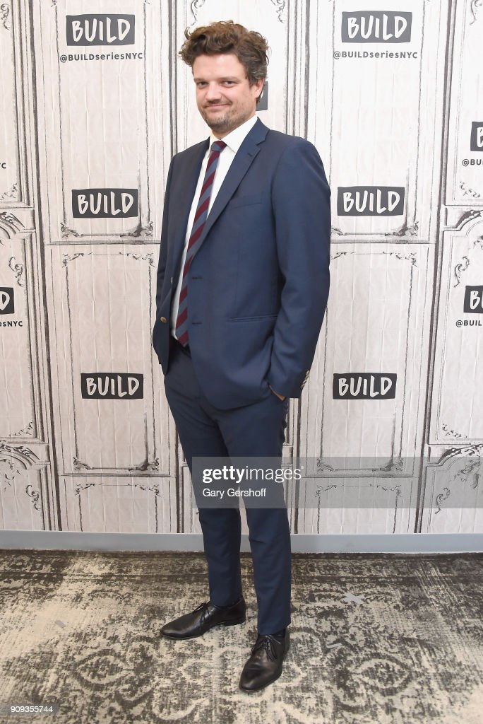 Actor Matt Jones visits Build Series to discuss the TV comedy 'Let's Get Physical' at Build Studio on January 23, 2018 in New York City.