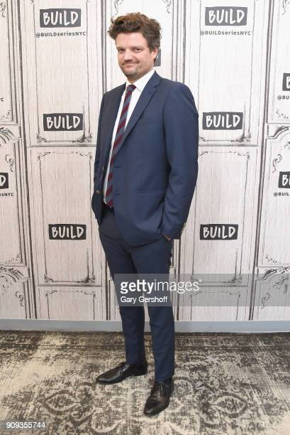 Actor Matt Jones visits Build Series to discuss the TV comedy 'Let's Get Physical' at Build Studio on January 23 2018 in New York City