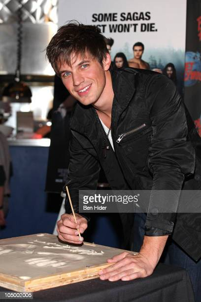 Actor Matt Lanter visits Planet Hollywood Times Square on October 7 2010 in New York City