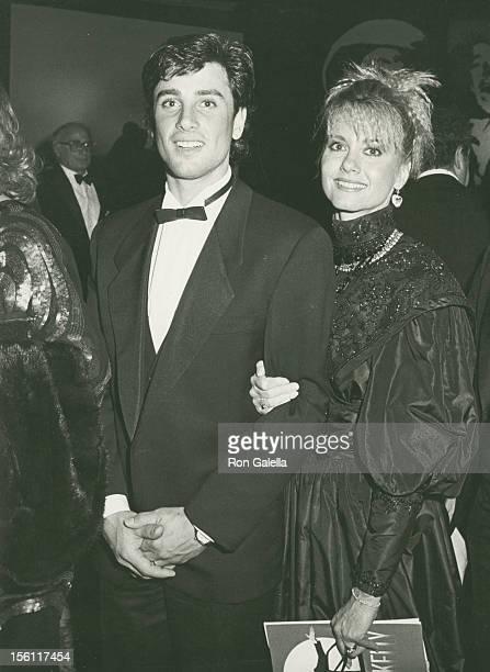 Actor Matt Lattanzi and singer Olivia Newton-John attend 13th Annual American Film Institute Lifetime Achievement Awards Honoring Gene Kelly on March...