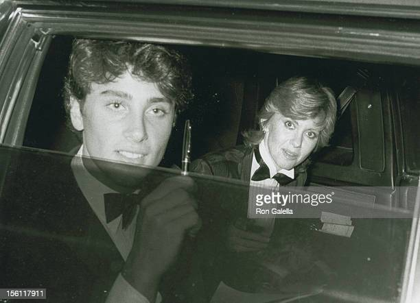 Actor Matt Lattanzi and singer Olivia Newton-John attend Nineth Annual American Film Institute Lifetime Achievement Awards Honoring Fred Astaire on...