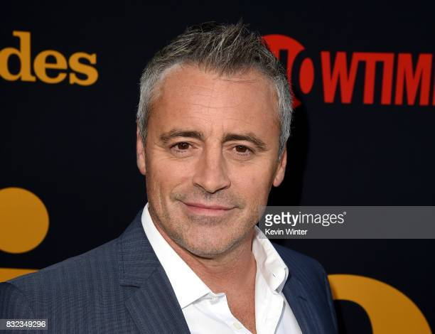 Actor Matt LeBlanc arrives at a party for the final season of Showtime Networks Episodes at The Nice Guy on August 15 2017 in Los Angeles California