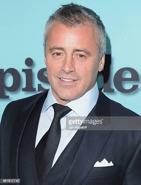 Actor Matt LeBlanc arrives at Showtime Celebrates AllNew Seasons Of 'Shameless' 'House Of Lies' And 'Episodes' at Cecconi's Restaurant on January 5...