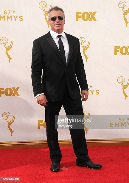 Actor Matt LeBlanc arrives at the 67th Annual Primetime Emmy Awards at the Microsoft Theater on September 20 2015 in Los Angeles California