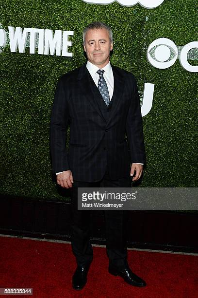 Actor Matt LeBlanc arrives at the CBS CW Showtime Summer TCA Party at Pacific Design Center on August 10 2016 in West Hollywood California