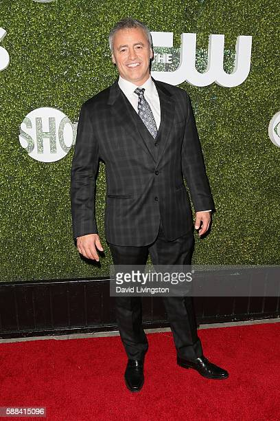 Actor Matt LeBlanc arrives at the CBS CW Showtime Summer TCA Party at the Pacific Design Center on August 10 2016 in West Hollywood California