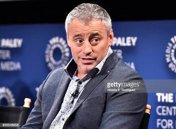Actor Matt LeBlanc attend the 2017 PaleyLive LA Summer Season Premiere Screening And Conversation For Showtime's Episodes at The Paley Center for...