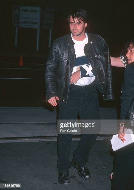 Actor Matt LeBlanc attends Planet Hope Benefit Auction Hosted by InStyle Magazine on September 5 1996 at Smashbox Studios in Culver City California