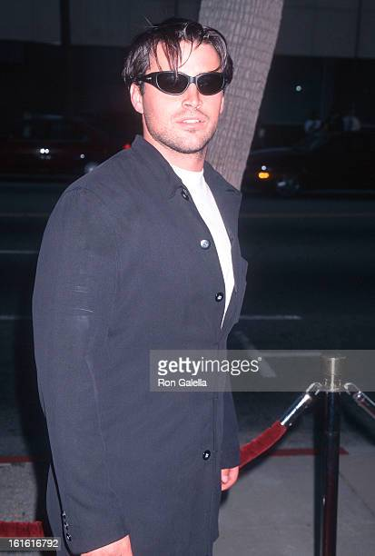 Actor Matt LeBlanc attends the 'Courage Under Fire' Beverly Hills Premiere on July 8 1996 at the Academy of Motion Picture Arts Sciences in Beverly...