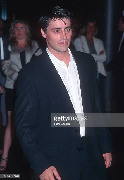 Actor Matt LeBlanc attends 'The Pallbearer' West Hollywood Premiere on April 25 1996 at the DGA Theatre in West Hollywood California