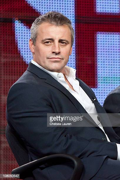 Actor Matt LeBlanc of 'Episodes' speaks at the 2011 Showtime Winter TCA Panel at The Langham Huntington Hotel and Spa on January 14 2011 in Pasadena...