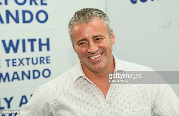 Actor Matt LeBlanc poses with Cottonelle at EXTRA's 'WEEKEND OF | LOUNGE' produced by On 3 Productions at The London West Hollywood on September 18...