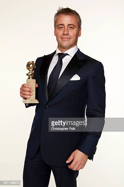 Actor Matt LeBlanc winner of the Best Performance by an Actor in a Television Series Musical or Comedy for Episodes poses for a portrait backstage at...
