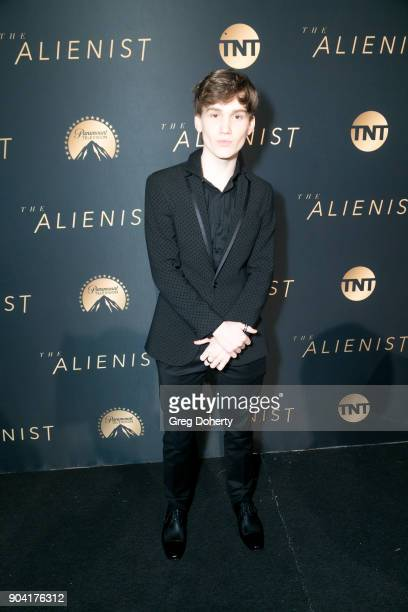 Actor Matt Lintz attends the Premiere Of TNT's The Alienist on January 11 2018 in Hollywood California