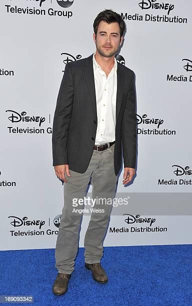 Actor Matt Long arrives at the Disney Media Networks International Upfronts at Walt Disney Studios on May 19 2013 in Burbank California