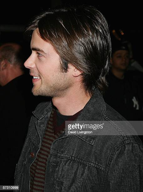 Actor Matt Long arrives at the premiere of Standing Still at the Arclight Theater on April 10 2006 in Hollywood California