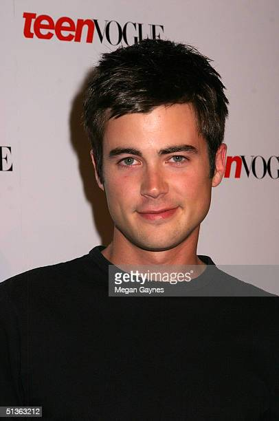 Actor Matt Long arrives at the Teen Vogue Young Hollywood Party at Chateau Marmont on September 23 2004 in Hollywood California