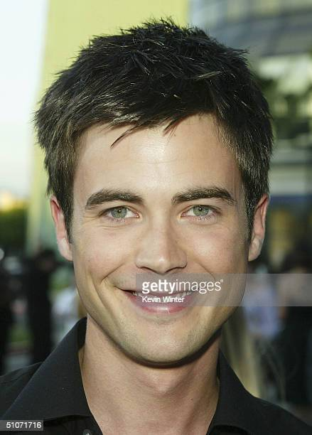 Actor Matt Long arrives at The WB Network's 2004 All Star Summer Party at the Pacific Design Center on July 14 2004 in West Hollywood California