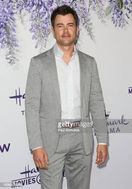 Actor Matt Long attends the 2018 Hallmark Channel Summer TCA at Private Residence on July 26 2018 in Beverly Hills California
