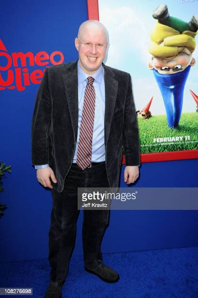 Actor Matt Lucas arrives at the Los Angeles premiere of 'Gnomeo and Juliet' at the El Capitan Theatre on January 23 2011 in Hollywood California