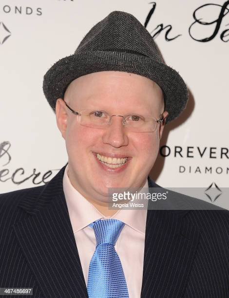 Actor Matt Lucas arrives at the Los Angeles premiere of 'In Secret' at ArcLight Hollywood on February 6 2014 in Hollywood California